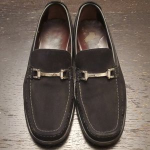 Suede Salvatore Ferragamo Loafers